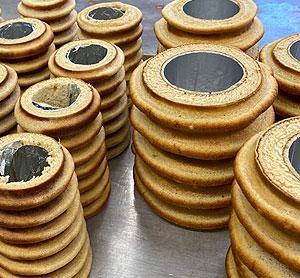 Herstellung Baumkuchen: Konditorei Müller
